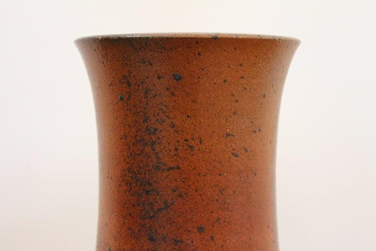 Ceramic German Studio Pottery Vase For Sale