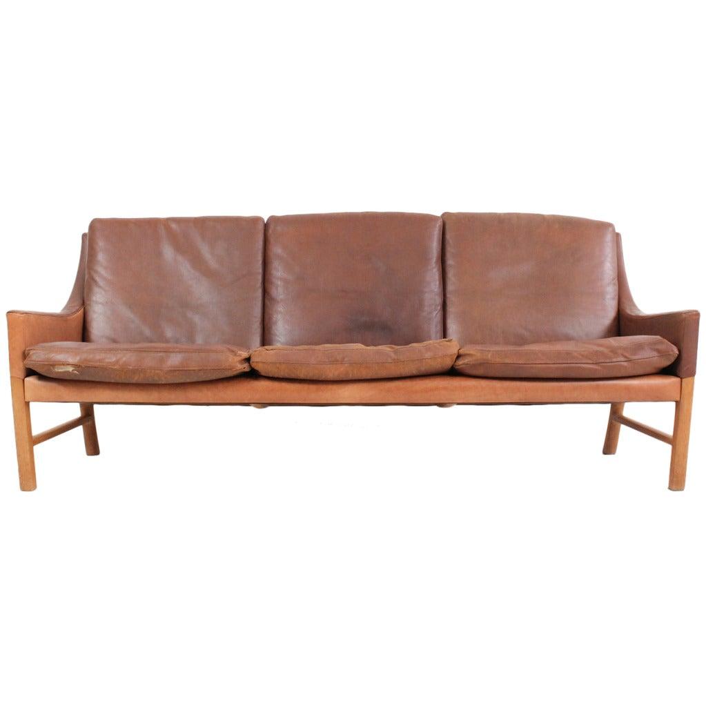Rare Sofa By Erik Ole Jorgensen At 1stdibs