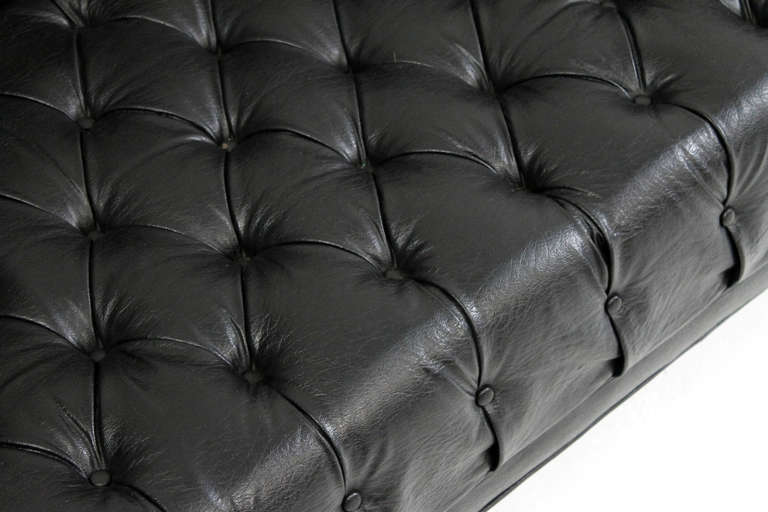 Late 20th Century Jack Cartwright Chesterfield Tufted Sofa For Sale