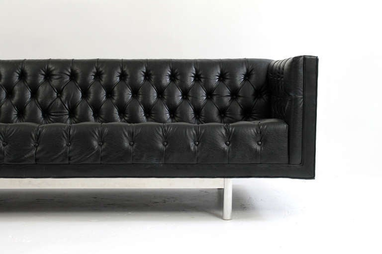 American Jack Cartwright Chesterfield Tufted Sofa For Sale