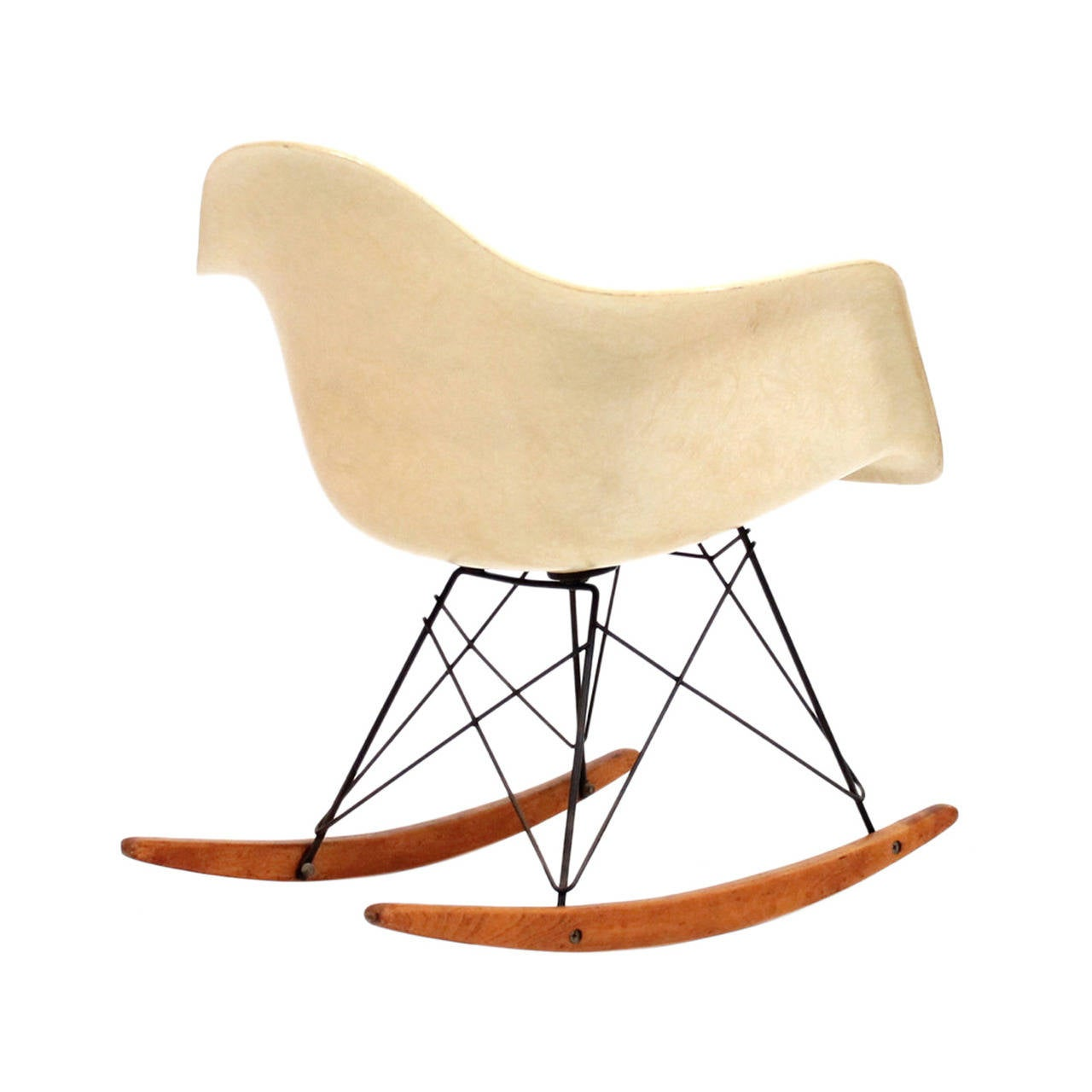 herman miller eames zenith rar rocking chair at 1stdibs