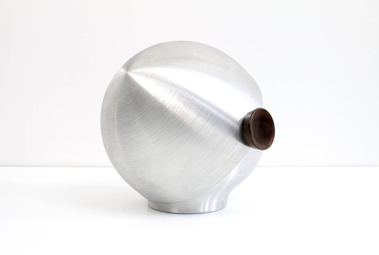 American Rare and Early Russel Wright Aluminum Vessel For Sale