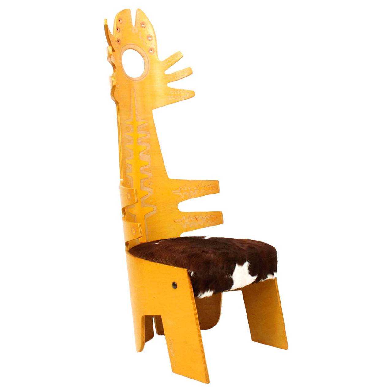Terence Main Chair Sculpture For Sale