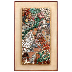 Miriam Rogers Stone Mosaic Wall Hanging