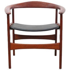 Teak Lounge Chair by Hovmand-Olsen