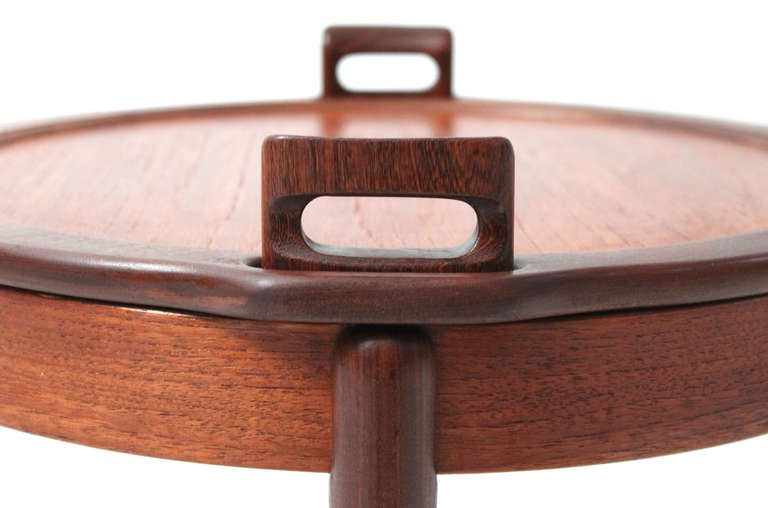Pair Of Reversible Ottoman Side Tables By B J Hansen At