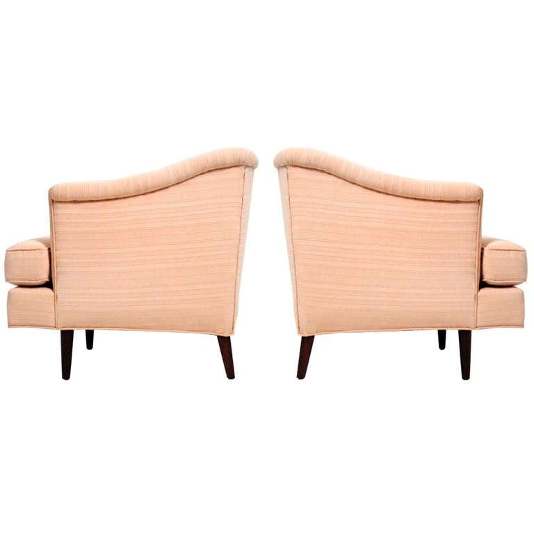 Edward wormley dunbar lounge chairs at 1stdibs - Edward wormley chairs ...