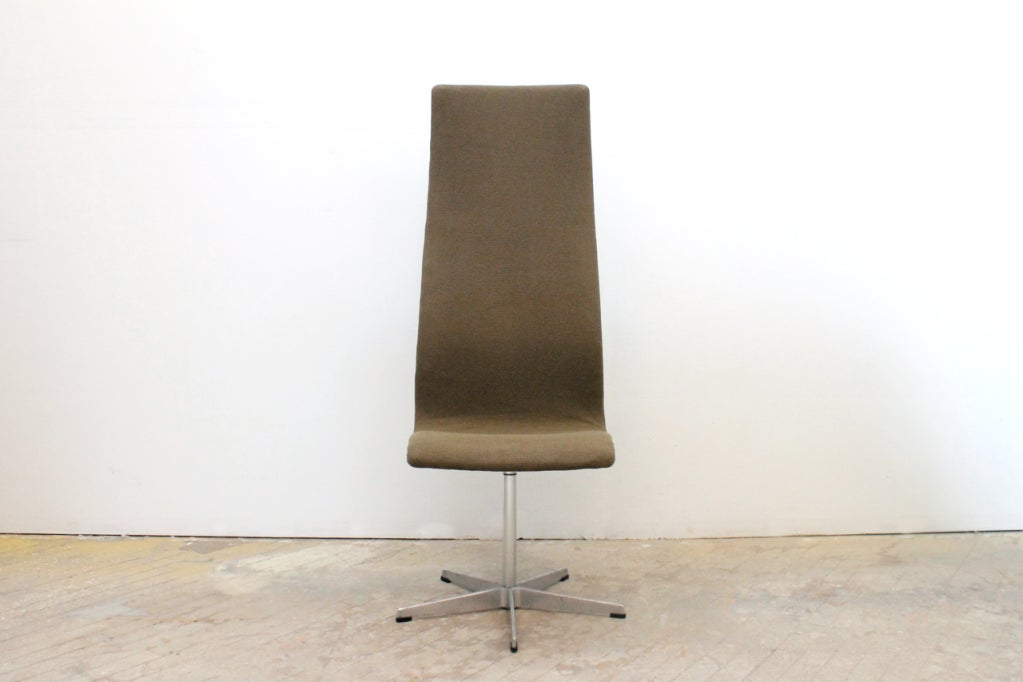 High Back Oxford Chair by Arne Jacobsen 2