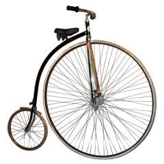 """Vintage High-Step Bicycle Co. High Wheel Bicycle, 52"""" Wheel"""