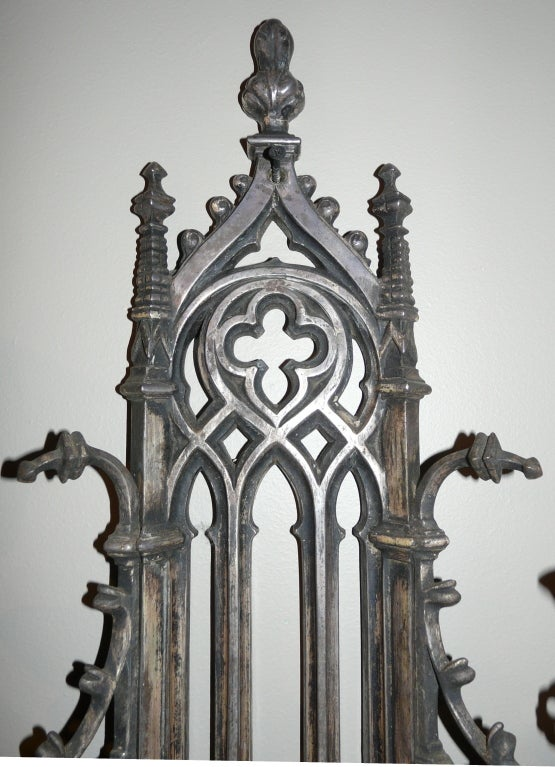 Wall Sconces Gothic : Gothic 5-Arm Sconce For Sale at 1stdibs
