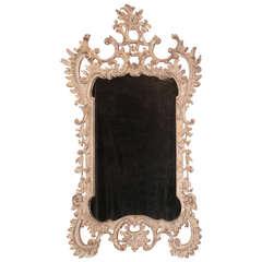 English Rococo Carved Mirror