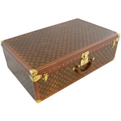 Louis Vuitton Vintage Hardside Luggage Suitcase