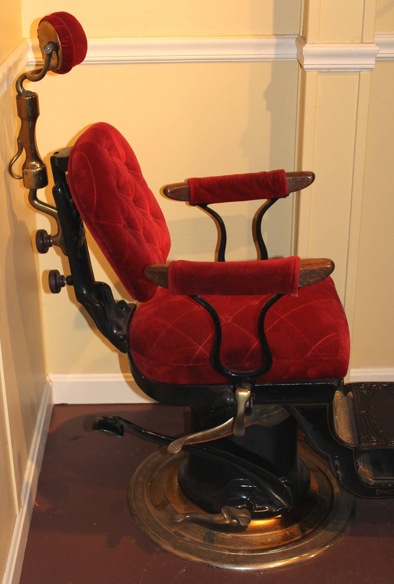 Ritter Imperial Columbia Dental or Dentist Chair circa 1905 1925