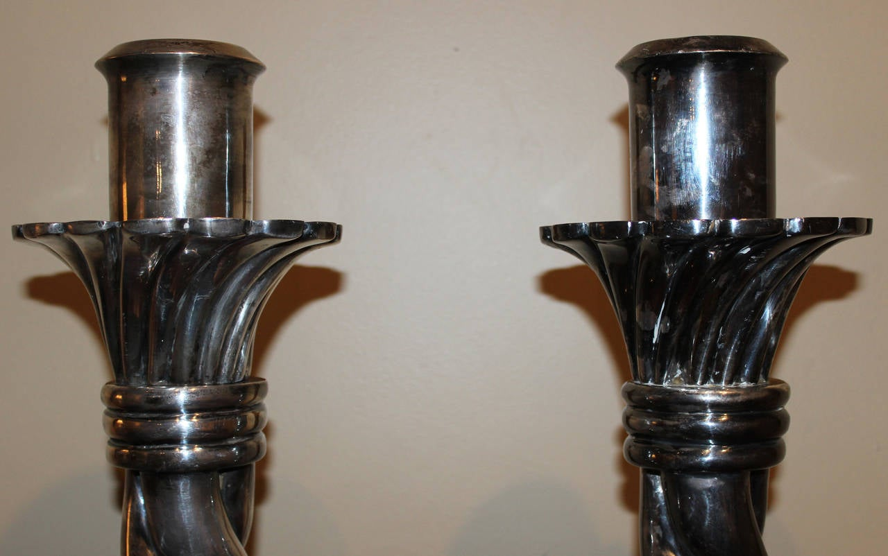 Brass candlesticks - price guide and values