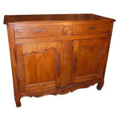 French Fruitwood Two Door Buffet