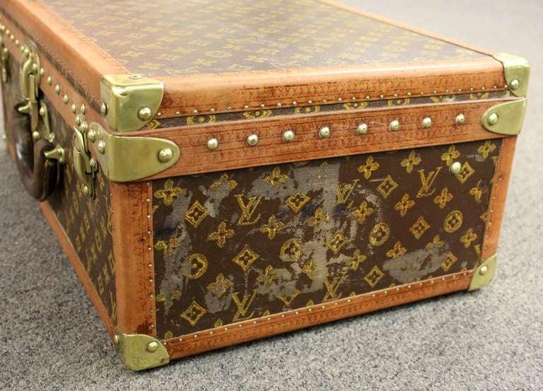 Louis Vuitton Vintage Hardside Suitcase At 1stdibs
