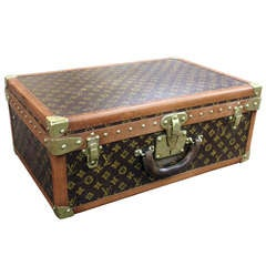 Louis Vuitton Vintage Hardside Suitcase