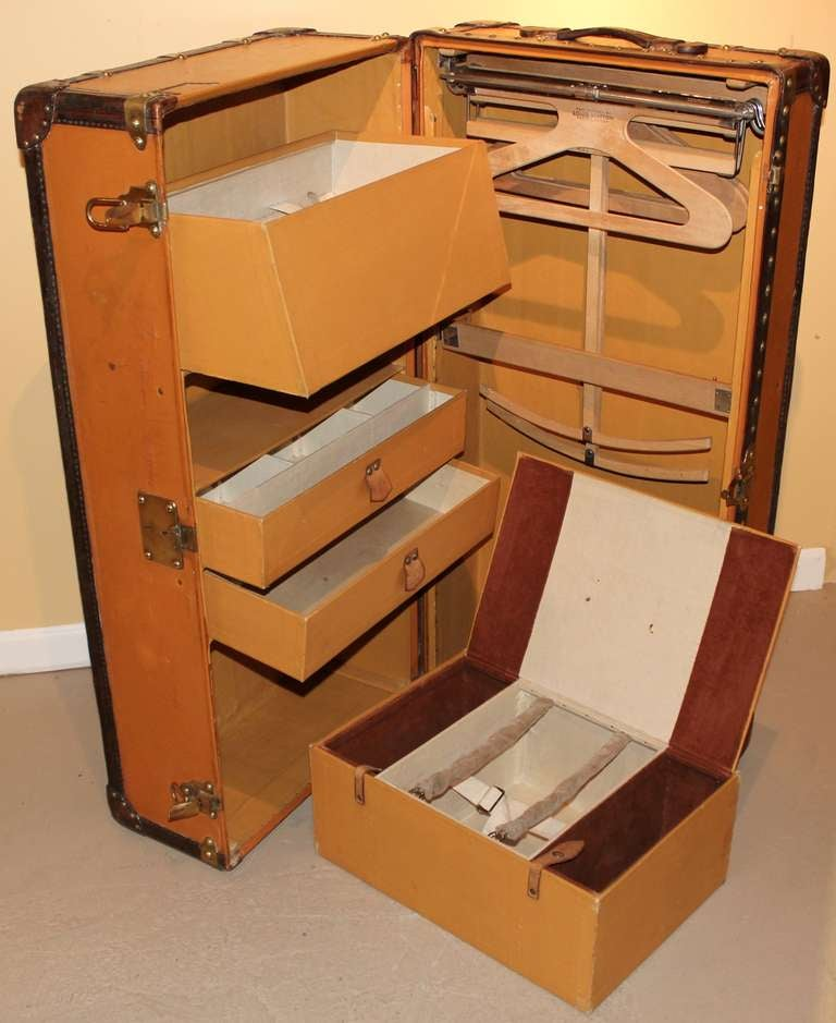 Louis Vuitton Wardrobe Steamer Trunk For Sale At 1stdibs