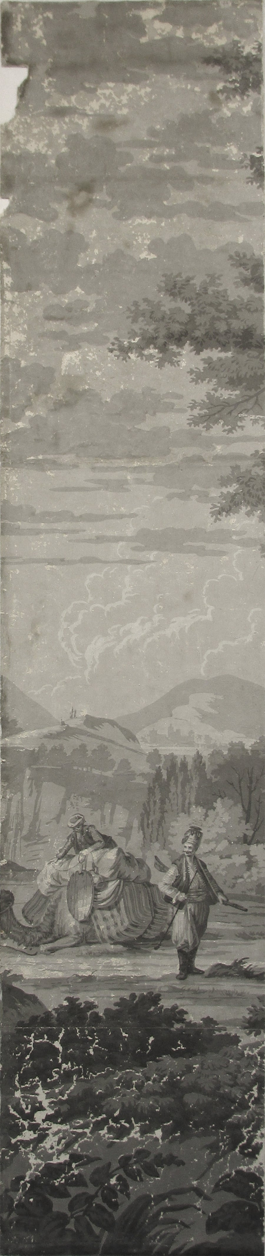 21 Wallpaper Panels, by Joseph Dufour Et Cie, After Comte de Choiseul-Gouffier 2
