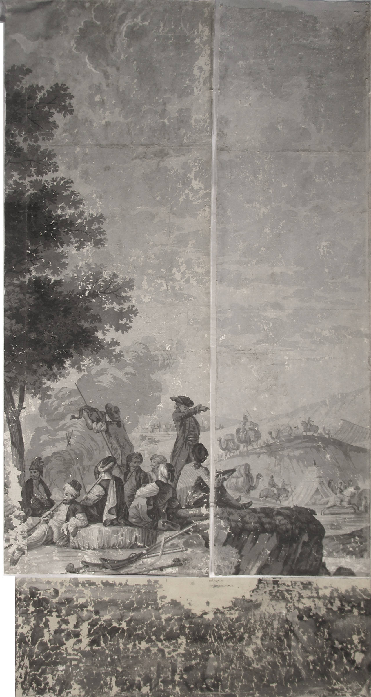 21 Wallpaper Panels, by Joseph Dufour Et Cie, After Comte de Choiseul-Gouffier 9