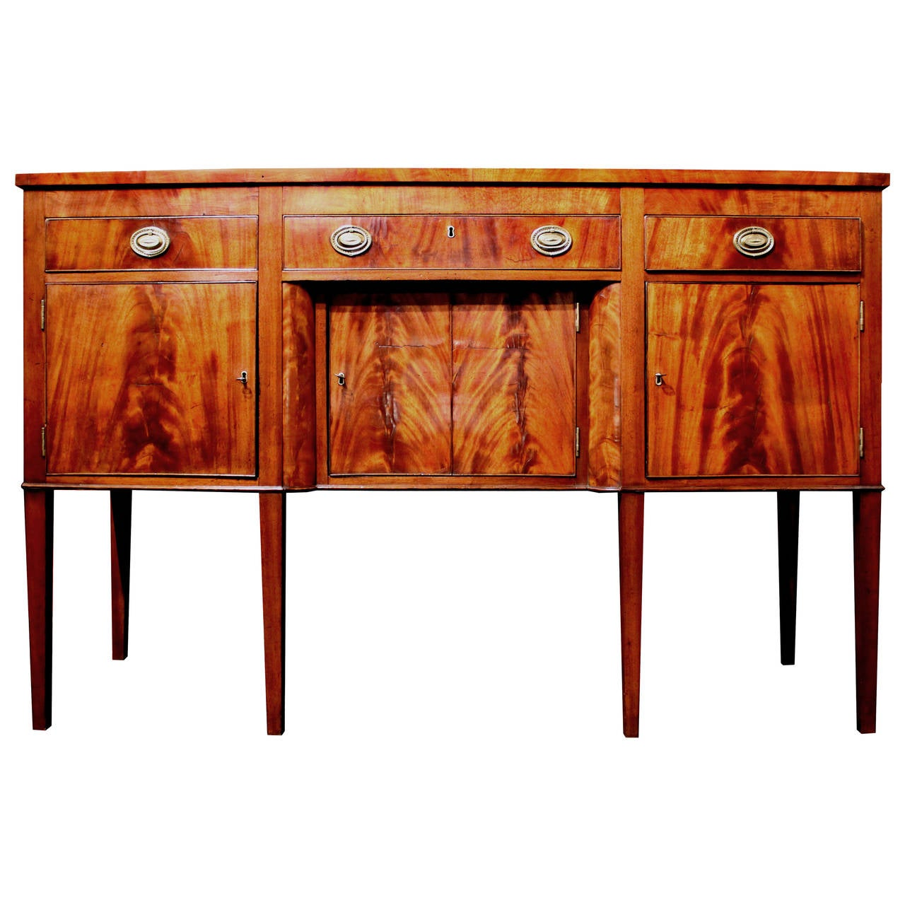 Hepplewhite mahogany sideboard by andrew anderson new for Sideboard york