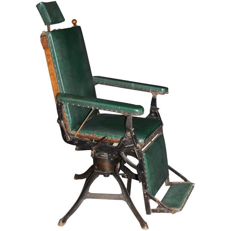 Rare Medical Chair Featured In World S Fair In 1904 At 1stdibs