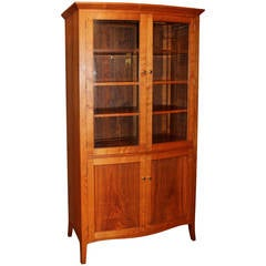 Exceptional Cherry Cupboard by David Margonelli in the Shaker manner