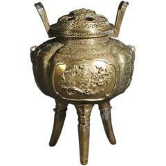 Bronze Chinese Censer