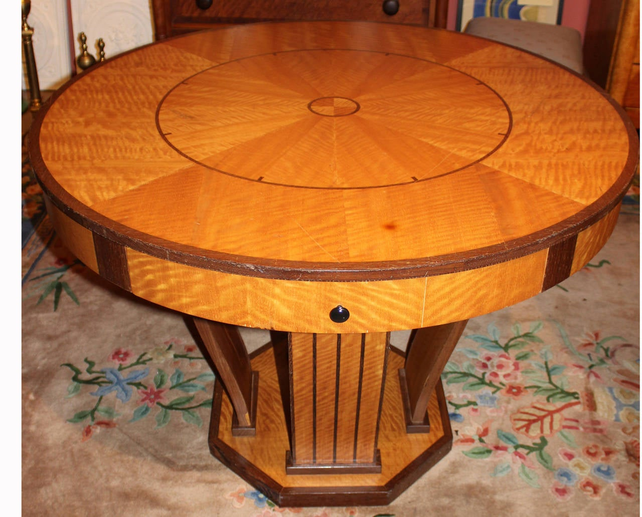 Pair of mid 20th century art deco style center tables with for Mid 20th century furniture