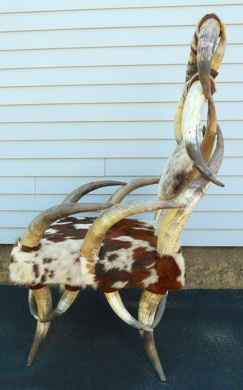 Cow Horn Chair 2