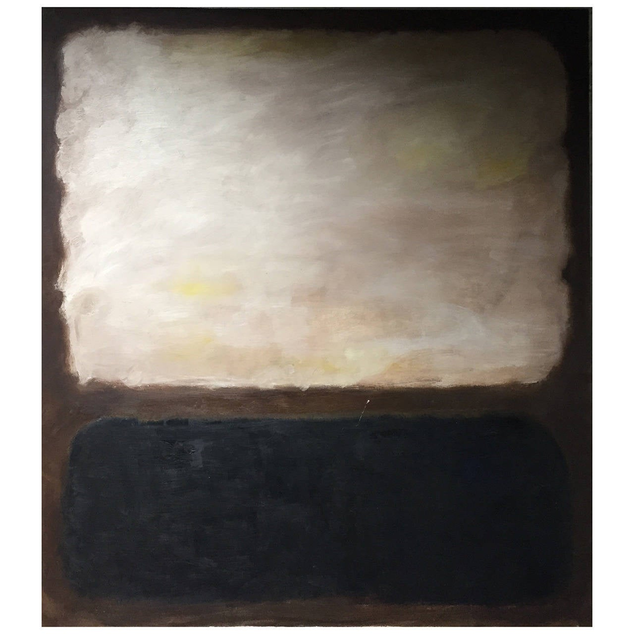 Large Painting in the Style of Mark Rothko at 1stdibs