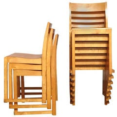 Sven Markelius, Ten Helsingborg Theatre Stacking Chairs