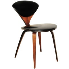 Vintage 1963 Norman Cherner Plycraft Bent Wood Pretzel Chair