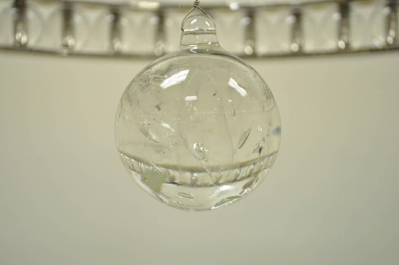 Elegant Regency Or Empire Style Polished Nickel And