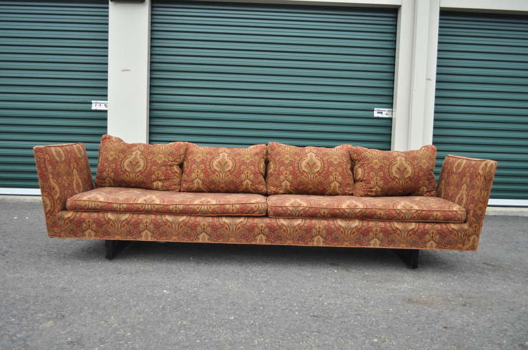 Edward Wormley for Dunbar Two-Part Split Open Arm Bracket Back Sectional Sofa 4