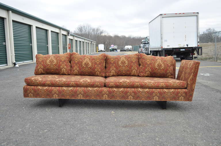 Edward Wormley for Dunbar Two-Part Split Open Arm Bracket Back Sectional Sofa 6