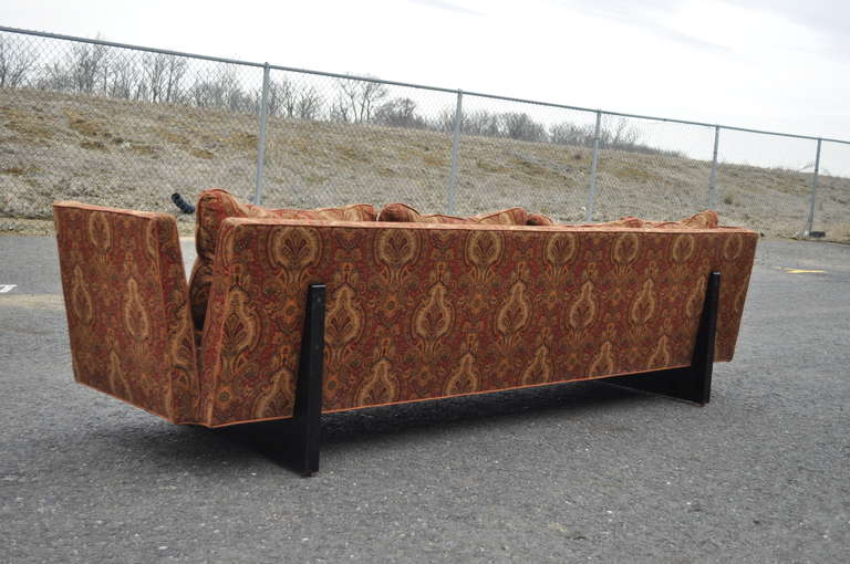 Edward Wormley for Dunbar Two-Part Split Open Arm Bracket Back Sectional Sofa 5