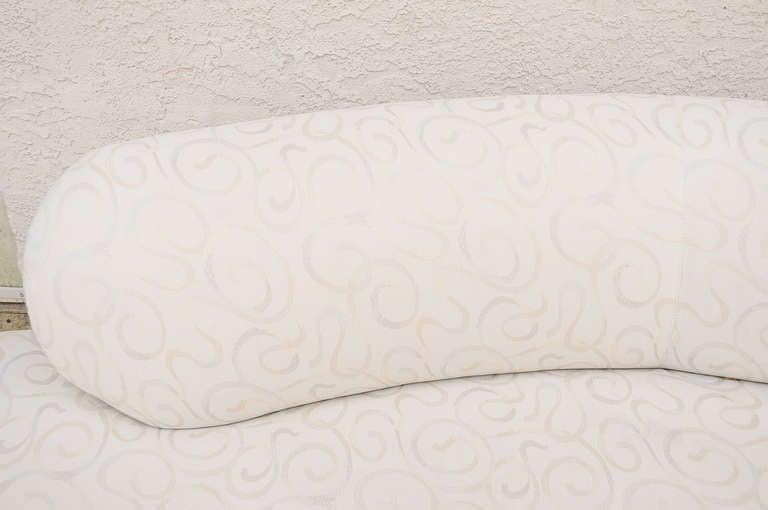 Vladimir Kagan For Weiman Preview Serpentine Cloud Sofa
