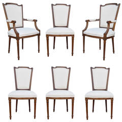louis xvi dining room chairs - 108 for sale at 1stdibs