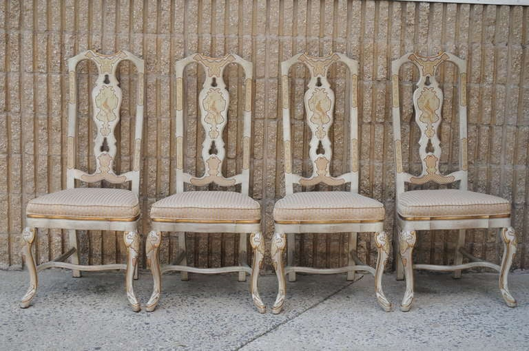 drexel heritage dining chairs 1