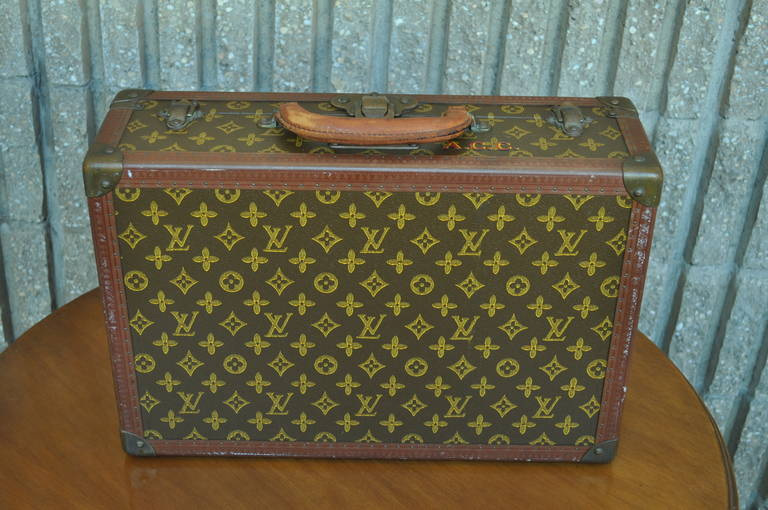 c58fc321d360 Louis Vuitton Luggage Hard Case Suitcase or Briefcase at 1stdibs