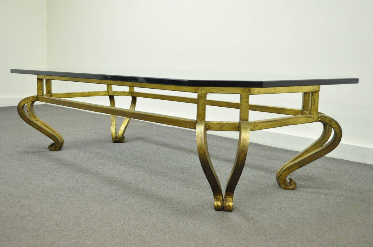 Vintage Mexican Hollywood Regency Coffee Table Attributed To Arturo Pani For Sale At 1stdibs
