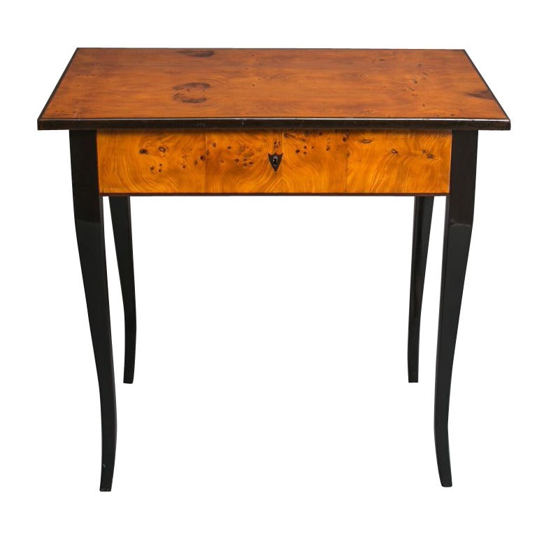 Empire Burl Wood Desk