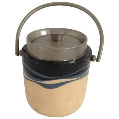 Aldo Tura Parchment Ice Bucket
