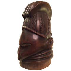 A Mende Sowei Mask