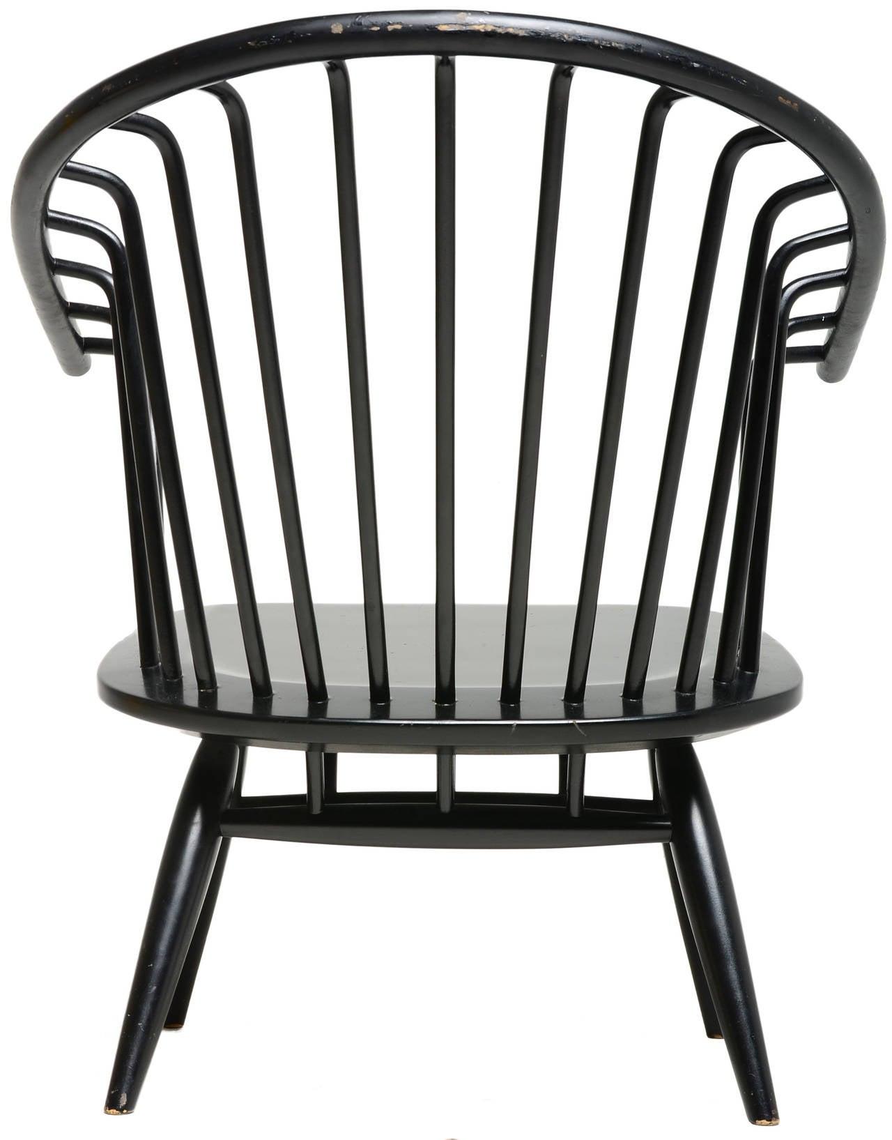 Finnish Ilmari Tapiovaara Crinolette Lounge Chair For Sale