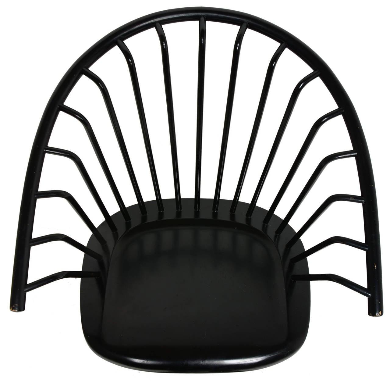 Wood Ilmari Tapiovaara Crinolette Lounge Chair For Sale