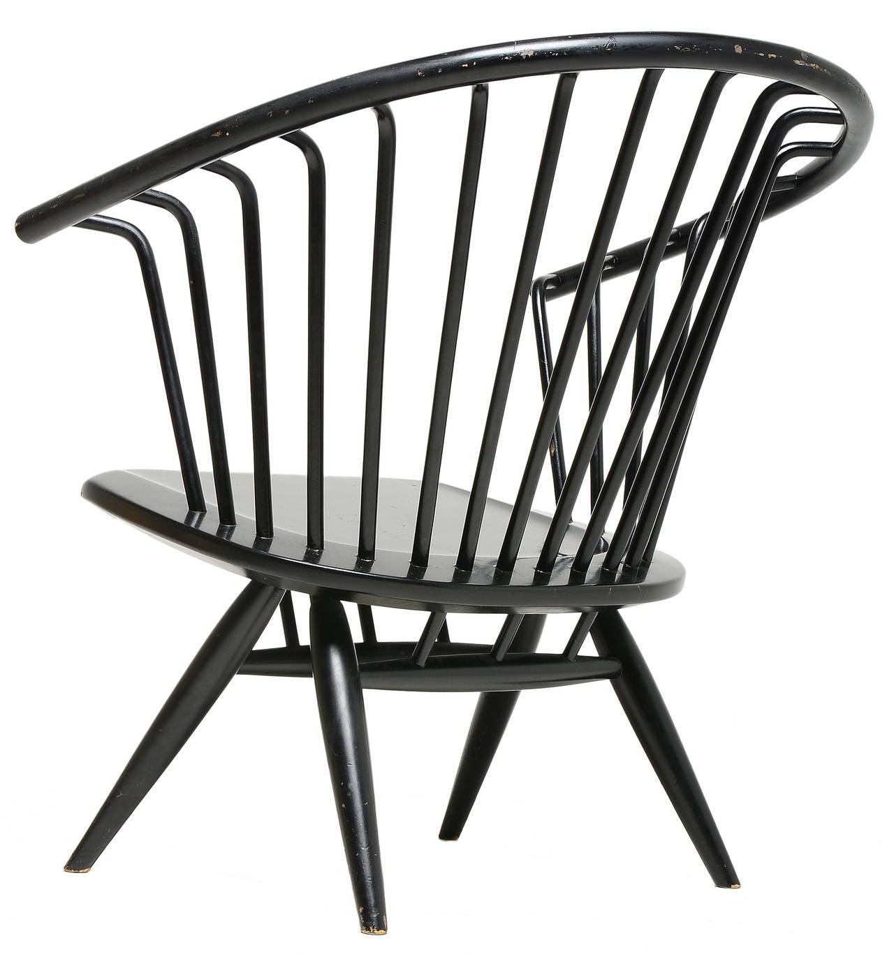 Scandinavian Modern Ilmari Tapiovaara Crinolette Lounge Chair For Sale