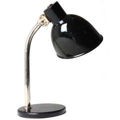 Early Paavo Tynell Table Lamp in Enamel for Taito 1935