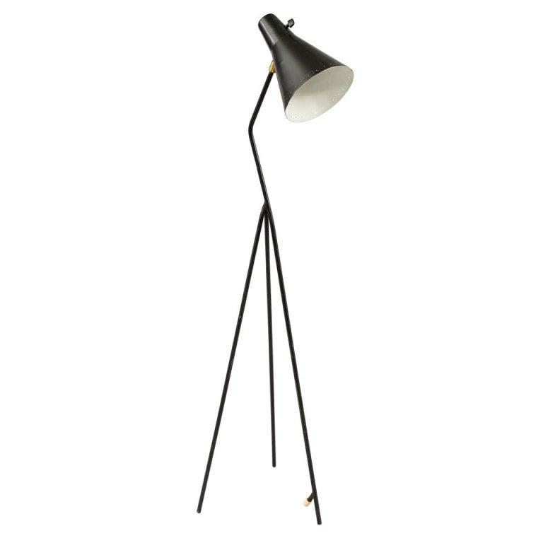 rare swedish bergboms grasshopper lamp at 1stdibs. Black Bedroom Furniture Sets. Home Design Ideas